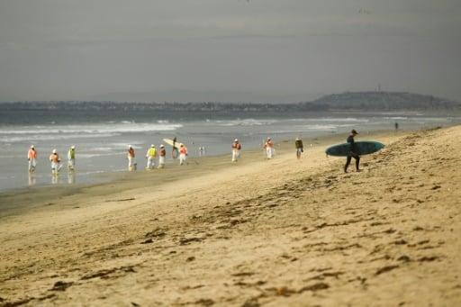 plage fuite oléoduc californie